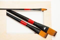 Paintbrush Obrazy Stock