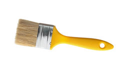 Paintbrush. Isolated on pure white royalty free stock photo