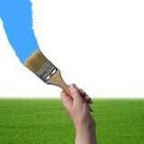 Paintbrush Stock Photo