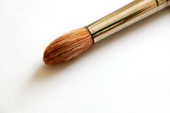 Paintbrush #5. On white background stock photography