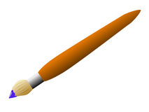 Paintbrush. Royalty Free Stock Photos