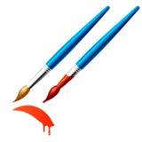 paintbrush иллюстрация вектора