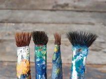 paintbrush Arkivbild