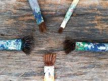 paintbrush arkivfoton