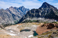 Paintbrush Canyon Trail in Grand Tetons National Park, Wyoming,. USA stock photography
