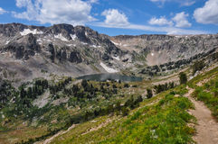 Paintbrush Canyon Trail in Grand Tetons National Park, Wyoming, Stock Image