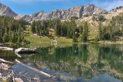 Paintbrush Canyon Trail in Grand Tetons National Park, Wyoming,. USA royalty free stock photos