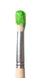 Paintbrush closeup Royalty Free Stock Image