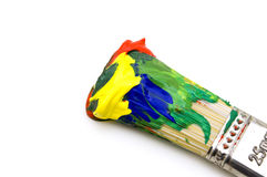 Paintbrush and color Stock Photo