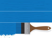 Paintbrush Drip Blue Royalty Free Stock Images