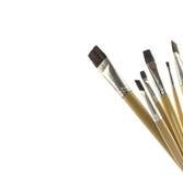 Paintbrush isolated on white Royalty Free Stock Photography