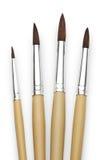 Paintbrush for painter isolated on white background Stock Photos