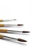 Paintbrush for painter isolated on white background Stock Images