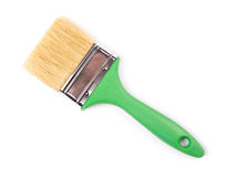 Paintbrush on white Stock Photography