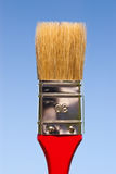 Paintbrush on sky Royalty Free Stock Images