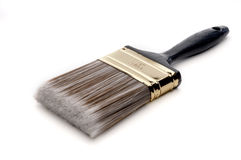 A paintbrush on white Stock Images