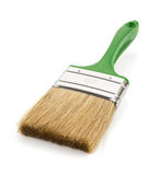 Paintbrush on white background Stock Images