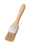 Paintbrush with a Wooden Handle Royalty Free Stock Photo