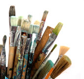 Paintbrushe. Paint Stock Images
