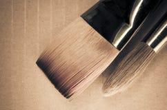 Paintbrushes закрывают вверх Стоковое фото RF