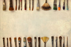paintbrushes предпосылки декоративные Стоковое Изображение RF