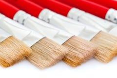 paintbrushes художника Стоковое Фото