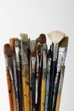 paintbrushes Royaltyfri Foto