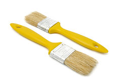 Paintbrushes. For painting on a white background Royalty Free Stock Images