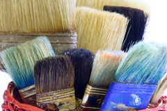 Paintbrushes Stock Photos