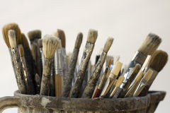 Paintbrushes Stock Image