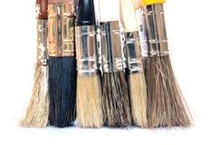 paintbrushes Fotografering för Bildbyråer