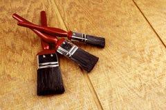 paintbrushes Fotografia Stock