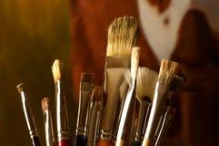 Paintbrushes Стоковая Фотография RF