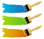 Paintbrushes Royalty Free Stock Images