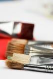 Paintbrushes Stock Images
