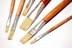 paintbrushes Royaltyfri Bild