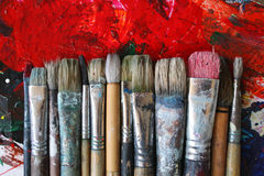 paintbrushes zdjęcie royalty free