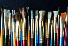 Paintbrushes Стоковые Изображения RF