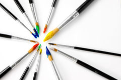 Paintbrushes Royalty Free Stock Photo
