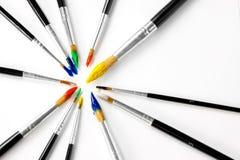paintbrushes Стоковое фото RF