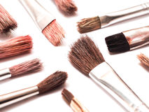Paintbrushes royalty free stock photos