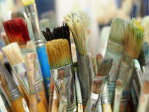 Paintbrushes Stock Photo