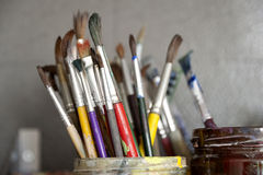 Paintbrushes Royalty Free Stock Image