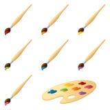 Paintbrushes Stock Photography