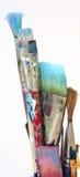 paintbrushes s художника Стоковое Изображение