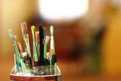 Paintbrushes Stock Photos