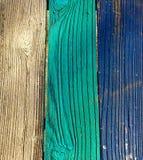 Painted исправил древесину Стоковая Фотография RF