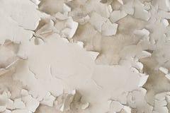 Painted崩裂了墙壁纹理 免版税库存照片