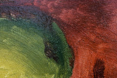 Painted abstract Stock Photography