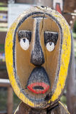 Painted african mask Royalty Free Stock Images
